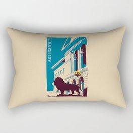 Art Institute Chicago Rectangular Pillow
