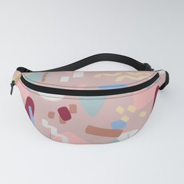 Postmodern Party in Blush Fanny Pack