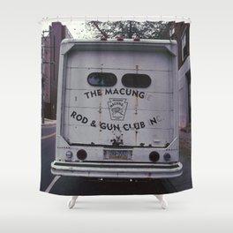 the macungie rod & gun club Shower Curtain