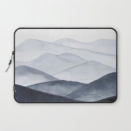 Watercolor Mountains Laptop Sleeve