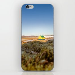 Iceland middle of nowhere iPhone Skin