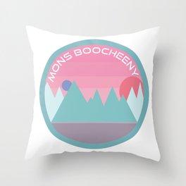 ◯ ⚝ MONS BOOCHEENY SOUVENIR ⚝ ◯  Throw Pillow