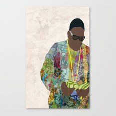 The Notorious Canvas Print