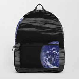 Earth from the moon Backpack