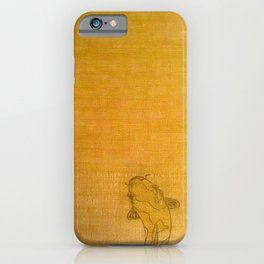 Golden Koi iPhone Case