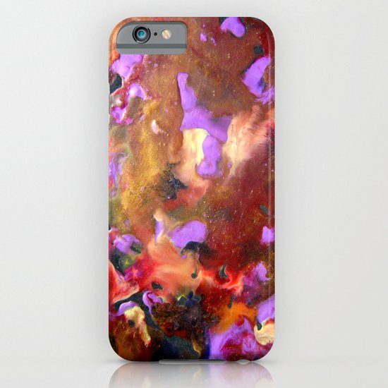 Encaustic Abstract 1 iPhone & iPod Case