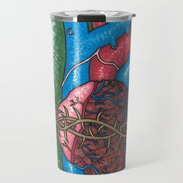 Sacred Heart War Travel Mug