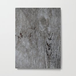 Wood Texture Abstract Pattern Metal Print