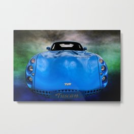 The TVR Tuscan Metal Print