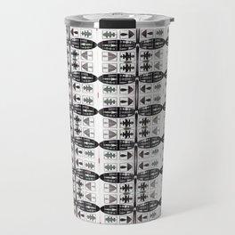 Internet of Everything Optical Illusions Travel Mug