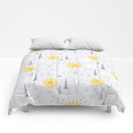 Winter Sunshine Comforters