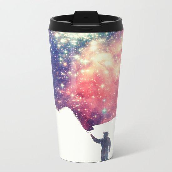 Painting the universe Metal Travel Mug