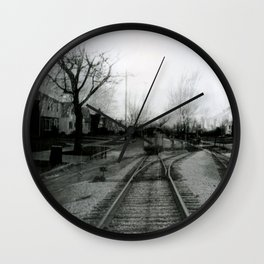 Leaving Home Wall Clock