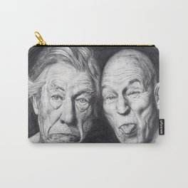 Patrick Stewart & Ian McKellen Carry-All Pouch