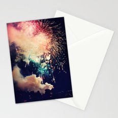 Bursts of light. Stationery Cards