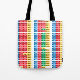 Darts 501 Outchart Tote Bag