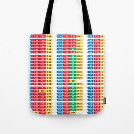 Darts 501 Outchart Tote Bag