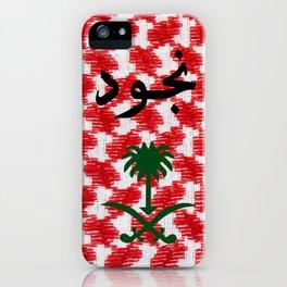 Njoud iPhone Case