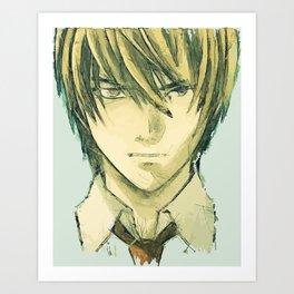 yagami Art Print