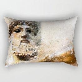 Zeus God of Thunder Greek Mythology - Jupiter Rectangular Pillow