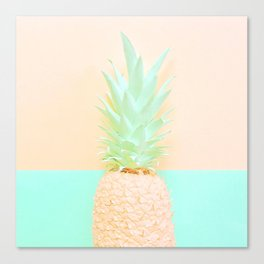 Pineapple Splice Canvas Print
