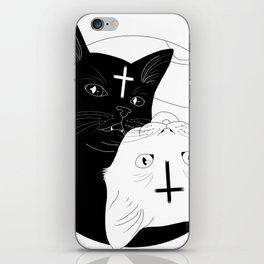 Ying yan cats iPhone Skin
