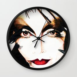 The Spider Woman Wall Clock