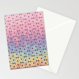Holographic Candy Geometric Stationery Cards