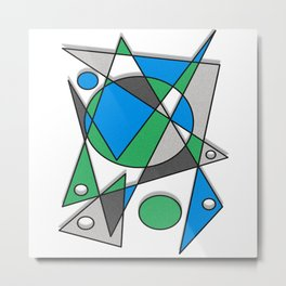 Abstract #83 Metal Print