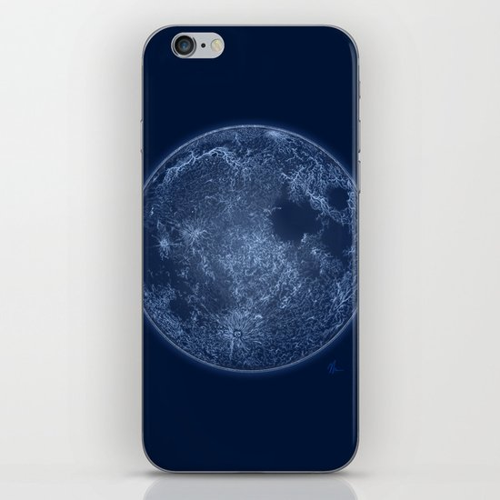 Dark Side of the Moon - Painting iPhone & iPod Skin