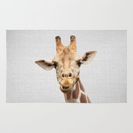 Giraffe 2 - Colorful Rug