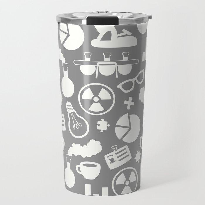 Grey Scientist Travel Mug