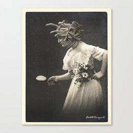 Victorian Medusa Canvas Print