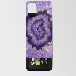 Purple Crystal Android Card Case