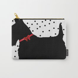 Christmas Scottie Dog Carry-All Pouch