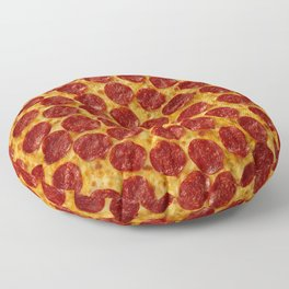 Pizza Pepperoni Floor Pillow
