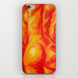 Abstract body iPhone Skin