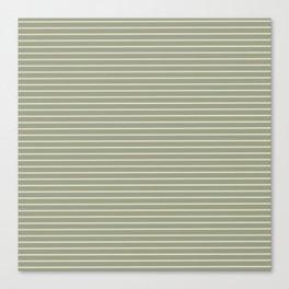 Seafoam Neutral Striped Palette Canvas Print