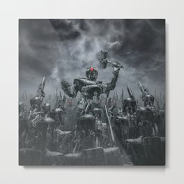 Once More Unto The Breach Metal Print