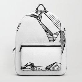 geometric bear Backpack