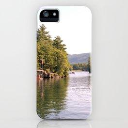 Beautiful Lake George iPhone Case