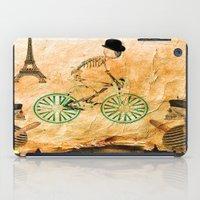 """tour de france iPad Cases featuring Monsieur Bone and """" le  Tour de France """" by Ganech joe"""