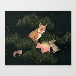 the peace offering Canvas Print