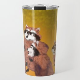 Raccoon Series: What's Going On? Travel Mug