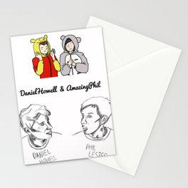 Dan and Phil (Unoffical) Stationery Cards