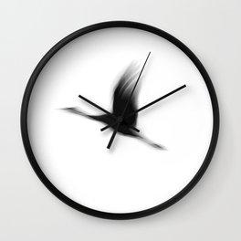 Crane(s) I Wall Clock