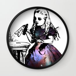 Alice in Universe Wall Clock
