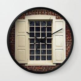 Annapolis Window Wall Clock