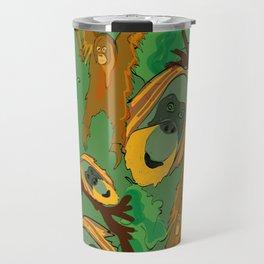 Save the orangutans Travel Mug