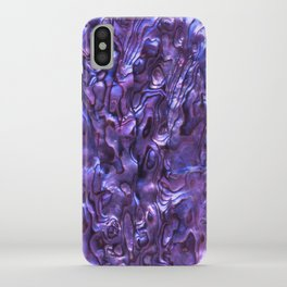 Abalone Shell | Paua Shell | Sea Shells | Patterns in Nature | Violet Tint | iPhone Case